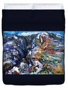 Velebit Paklenica Canyon Duvet Cover