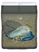Velella With Shadow Duvet Cover