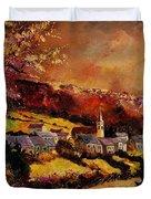 Vencimont Village Ardennes  Duvet Cover