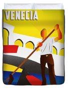 Venecia Art Deco Duvet Cover