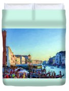 Venetian Afternoon I Duvet Cover