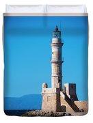 Venetian Lighthouse Duvet Cover