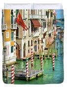 Venetian Palaces Duvet Cover