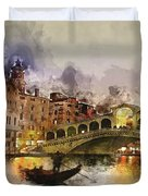 Venezia, Canal Grande Duvet Cover