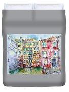 Venice-6-30-15 Duvet Cover by Vladimir Kezerashvili