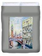 Venice 7-2-15 Duvet Cover by Vladimir Kezerashvili