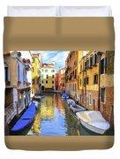 Venice Alleyway 2 Duvet Cover