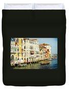 Venice Architecture Duvet Cover