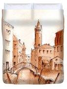 Venice Backwater Duvet Cover