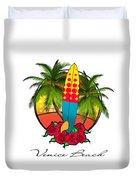 Venice Beach Duvet Cover