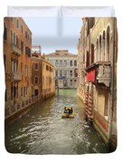 Venice Canal 2 Duvet Cover