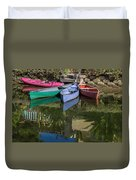Venice Canal Reflections Duvet Cover