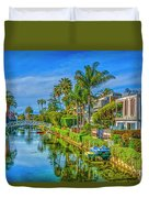 Venice Canals And Houses 4 Duvet Cover