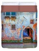 Venice Canareggio Palace Duvet Cover
