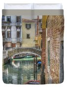 Venice Channels1  Duvet Cover