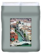Venice City Of Canals Duvet Cover by Julie Palencia