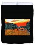 Venice Eventide Impasto Duvet Cover