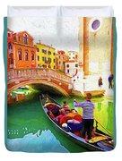 Venice Gondola Series #1 Duvet Cover