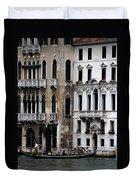 Venice Gondolier 2 Duvet Cover