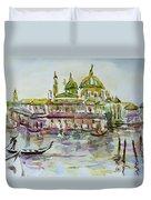 Venice Impression Iv Duvet Cover