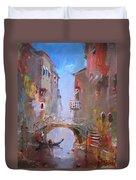 Venice Impression Duvet Cover