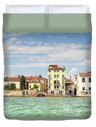 Venice In Summer  Duvet Cover