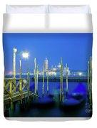 Venice Lagoon At Dusk Duvet Cover