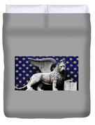 Venice Lion Duvet Cover