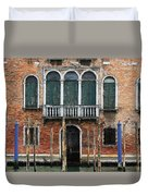 Venice Old Palace Duvet Cover by Julian Perry