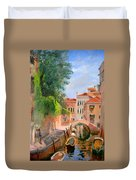 Venice Ponte Moro Duvet Cover