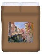 Venice Ponte Vendrraria Duvet Cover