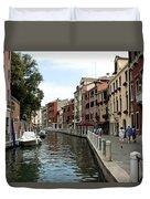 Venice Postcard Duvet Cover
