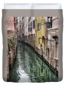 Venice - Reflections Duvet Cover