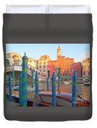 Venice Rialto Bridge Duvet Cover