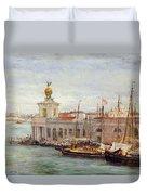 Venice Duvet Cover by Sir Samuel Luke Fields