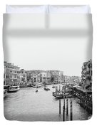 Venice Taxi Ride Duvet Cover