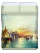 Venice Duvet Cover by Thomas Moran