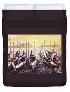 Venice Watercolor- Italy Duvet Cover
