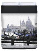Venice Waterfront Duvet Cover