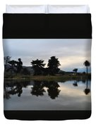 Ventura California Coast Estuary Duvet Cover