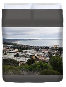 Ventura Coast Skyline Duvet Cover