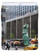 New York's Venus De Milo Duvet Cover