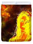Venus Is Home Duvet Cover