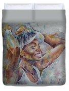 Venus Williams - Portrait 1 Duvet Cover