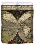 Vera Totius Expeditionis Nauticae Of 1595 Duvet Cover
