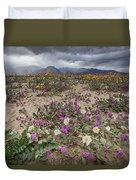 Verbena And Primrose Duvet Cover