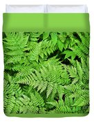 Verdant Ferns Duvet Cover