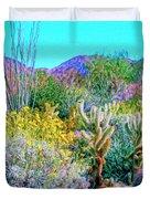 Verdant Spring Mohave Desert Duvet Cover