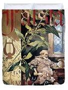 Verdi E Il Falstaff Duvet Cover