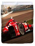Verizon Indycar Series - 3 Duvet Cover